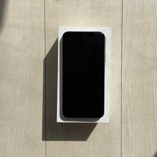 アイフォーン(iPhone)のiPhoneXS 64GB シルバー iFaceクリアケース付(スマートフォン本体)