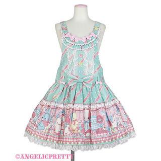 アンジェリックプリティー(Angelic Pretty)の Angelic pretty MELODY TOYSサロペット ミント(サロペット/オーバーオール)