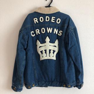 ロデオクラウンズ(RODEO CROWNS)のロデオクラウンズ デニムボアGジャン 限定 レア(Gジャン/デニムジャケット)