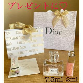 Christian Dior - ディオール ミスディオール   香水&マキシマイザー ミニサイズ ギフトセット♡