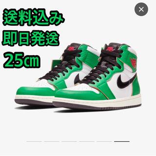 """ナイキ(NIKE)のWmns Air Jordan 1  """"Lucky Green"""" 25㎝(スニーカー)"""