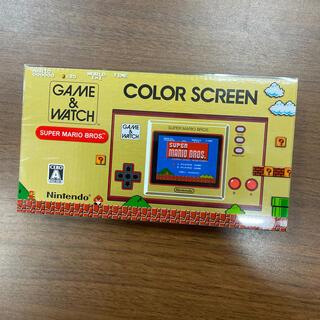ニンテンドウ(任天堂)の【最安値】ゲームウォッチ マリオ Game Watch Nintendo(携帯用ゲーム機本体)
