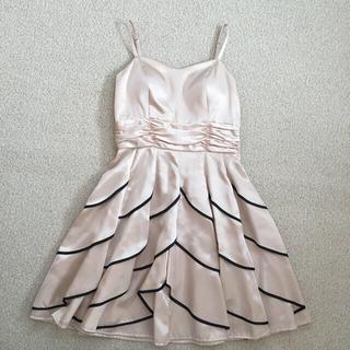 セシルマクビー(CECIL McBEE)のドレス パニエ付き Mサイズ パーティードレス ワンピース(ミディアムドレス)