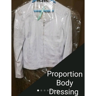 PROPORTION BODY DRESSING - プロポーションボディドレッシング ノーカラージャケット
