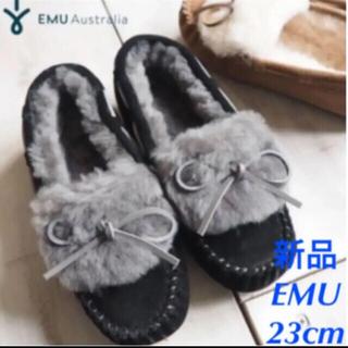 EMU - 新品★EMU エミュー アミティ カフ モカシン ムートン シューズ