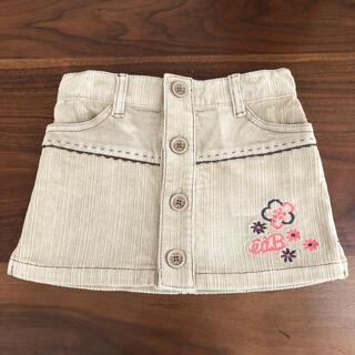 ベベ(BeBe)の子ども服 べべ BeBe女の子スカート(スカート)
