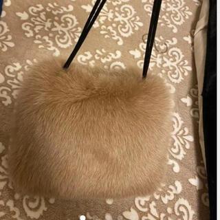 ラドロー(LUDLOW)の【未使用】LUDLOW Foxショルダーバッグ beige(トートバッグ)