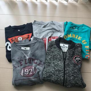 アバクロンビーアンドフィッチ(Abercrombie&Fitch)のアバクロキッズ フリース&トレーナー&Tシャツ セット(Tシャツ/カットソー)