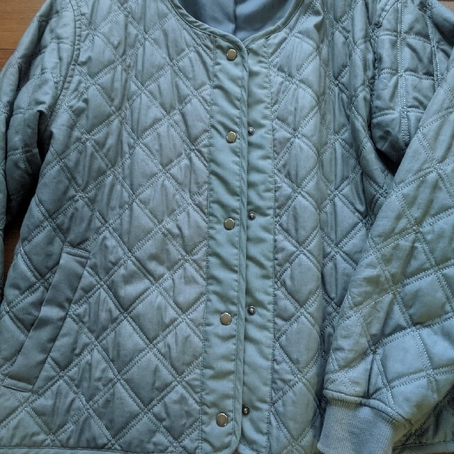 SM2(サマンサモスモス)のキルティングジャケット レディースのジャケット/アウター(ノーカラージャケット)の商品写真
