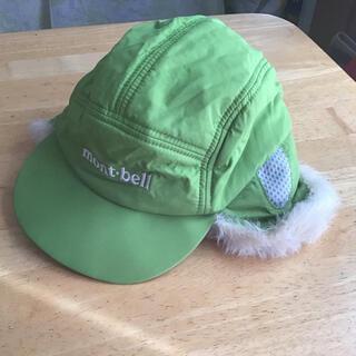 mont bell - mont bell キッズ 冬用帽子 頭周り51〜54㎝ グリーン