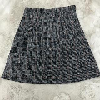 エモダ(EMODA)のEMODA ツイード柄 スカート(ミニスカート)