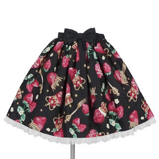アンジェリックプリティー(Angelic Pretty)のAngelic Pretty Royal Crown Berryスカート(ひざ丈スカート)