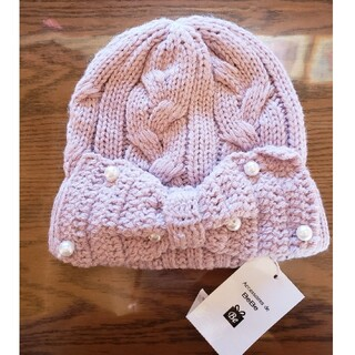 ベベ(BeBe)のBeBe ベビー ニット帽(帽子)