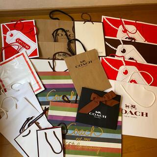 コーチ(COACH)のコーチショップ紙袋18枚(ショップ袋)