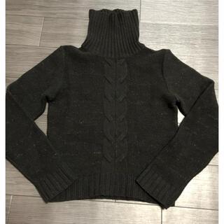 大幅お値下げ価格❤️ ブラックウールセーター(ニット/セーター)