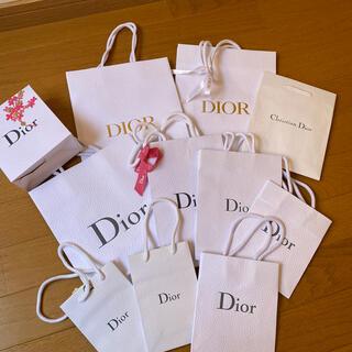 ディオール(Dior)のお値下げ(*≧∀≦*)ディオールショップ紙袋11枚(ショップ袋)