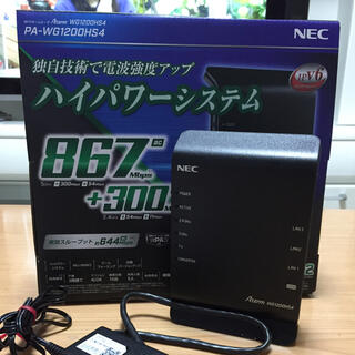 エヌイーシー(NEC)のJ.M様 専用ページ Wi-Fi 無線LANホームルータ NEC(その他)