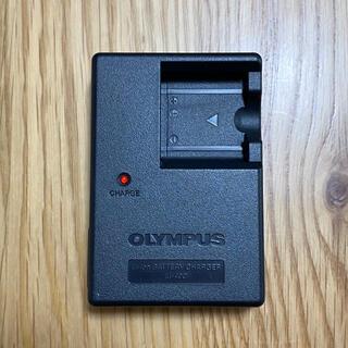 オリンパス(OLYMPUS)の【美品】OLYMPUS 純正 バッテリーチャージャー LI-40C(バッテリー/充電器)