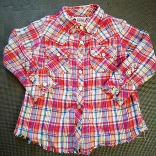 エムピーエス(MPS)の100チェックシャツ(Tシャツ/カットソー)