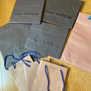 ルイヴィトン(LOUIS VUITTON)のルイヴィトンショップ紙袋9枚(ショップ袋)