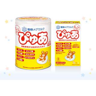 ユキジルシメグミルク(雪印メグミルク)のぴゅあ 粉ミルク缶(その他)