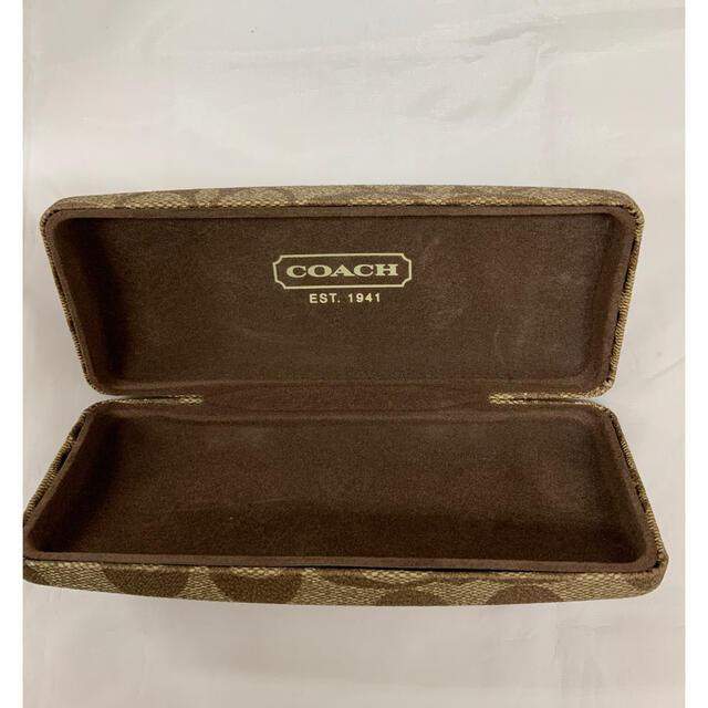 COACH(コーチ)のコーチ メガネケース 美品です!早い者勝ちです。 レディースのファッション小物(サングラス/メガネ)の商品写真
