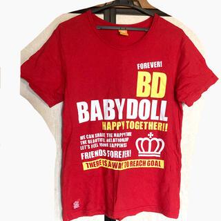 ベビードール(BABYDOLL)のBABYDOLL Tシャツ M(Tシャツ(半袖/袖なし))