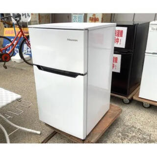 Panasonic - ハイセンス 2ドア冷蔵庫 93L・右開きタイプ HR‐B95A‐W ホワイト