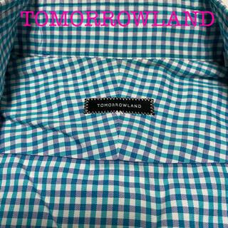 トゥモローランド(TOMORROWLAND)のTOMORROWLAND  チェックシャツ    40(シャツ)