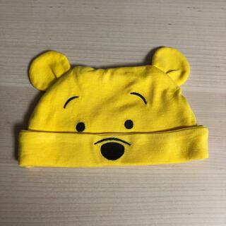 ユニクロ(UNIQLO)のUNIQLO くまのプーさん 耳付き帽子(帽子)