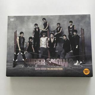 スーパージュニア(SUPER JUNIOR)のSUPER JUNIOR スパショ3 SS3 DVD(ミュージック)