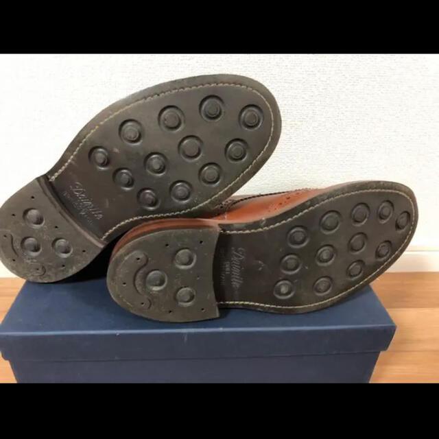 Trickers(トリッカーズ)の本日限り トリッカーズ モールトン マロン M2508 サイズ7.5 メンズの靴/シューズ(ブーツ)の商品写真