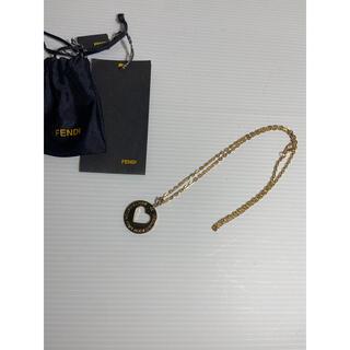 フェンディ(FENDI)のFENDI フェンディ ネックレス ゴールドチェーン 美品 ハート(ネックレス)