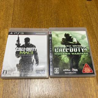 プレイステーション3(PlayStation3)の2本セット PS3 COD コール オブ デューティ モダン・ウォーフェア1,3(家庭用ゲームソフト)