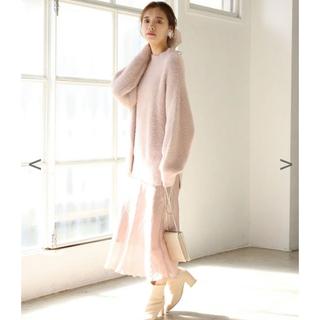ナイスクラップ(NICE CLAUP)のNICE CLAUP 新作 新品未使用 店頭販売中 血色スカート(ロングスカート)