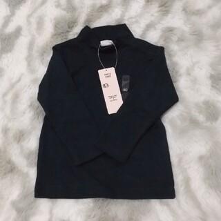 アカチャンホンポ(アカチャンホンポ)の【サイズ80】プチハイネックTシャツ(黒)(Tシャツ)