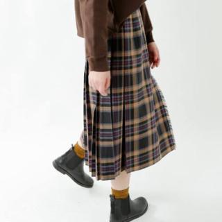 オニール(O'NEILL)の【別注新品】O'NEIL of DUBLIN 100%ウールキルトスカート 8(ロングスカート)
