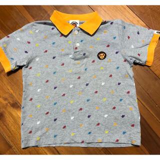A BATHING APE - BAPE KIDS 110 ポロシャツ