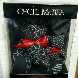 セシルマクビー(CECIL McBEE)のCECIL Mc BEEノベルティ (テディベア2体)(その他)