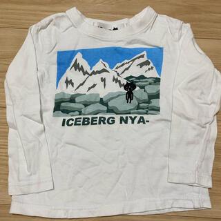 ネネット(Ne-net)のにゃー Tシャツ ロンT 100㎝(Tシャツ/カットソー)