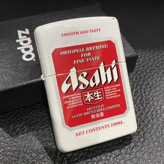 アサヒ(アサヒ)の【ZIPPO】ASAHI アサヒ 本生 発泡酒 赤缶 ジッポライター 箱付き(タバコグッズ)