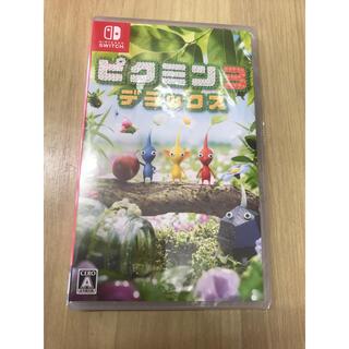 ニンテンドースイッチ(Nintendo Switch)の★新品未開封 ピクミン3 デラックス Switch スイッチ ソフト 人気 誕生(家庭用ゲームソフト)