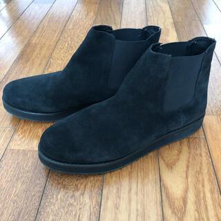 トゥモローランド(TOMORROWLAND)のEl Sepia スエード ショート サイドゴアブーツ(ブーツ)