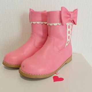 Shirley Temple - シャーリーテンプル ブーツ16cm