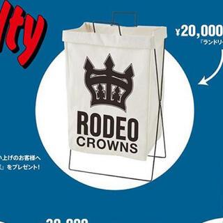 ロデオクラウンズワイドボウル(RODEO CROWNS WIDE BOWL)の新品未使用未開封 ロデオクラウンズ ノベルティ(バス収納)