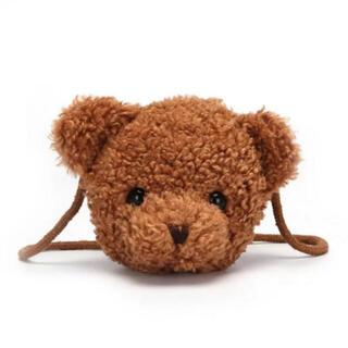 ザラキッズ(ZARA KIDS)のクマ ポシェット バッグ ベビー キッズ(ポシェット)