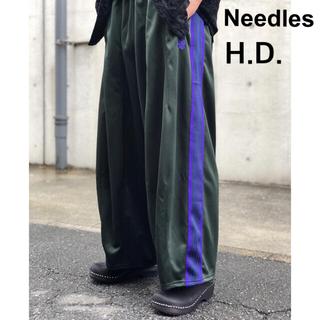 ニードルス(Needles)のNeedles ヒザデルトラックパンツ18AW 美品(ワークパンツ/カーゴパンツ)