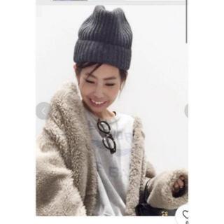 アパルトモンドゥーズィエムクラス(L'Appartement DEUXIEME CLASSE)のL'Appartement DEUXIEME CLASSEニット帽☆(ニット帽/ビーニー)