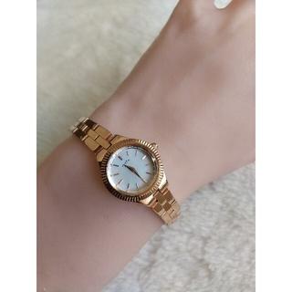 アガット(agete)のアガット腕時計 agete 1Pダイヤレディースクォーツ(腕時計)