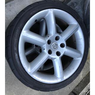 ニッサン(日産)のフェアレディZ33純正ホイール4本セット 3本ネオバ(タイヤ・ホイールセット)